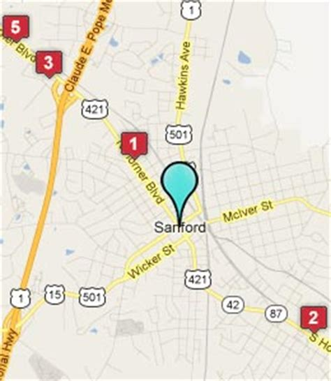 map of sanford carolina sanford nc pictures posters news and on your