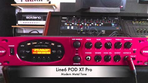 Line 6 POD Pro XT High Gain Recording - YouTube Line 6 Pod Pro