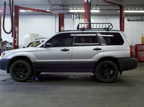 1999 subaru forester lifted subaru forester with a little lift car just for fun