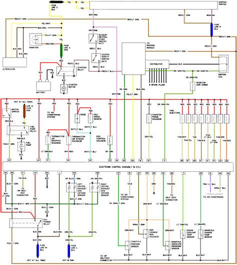 1987 mustang wiring diagram 87 mustang wiring diagram 302 wiring diagram