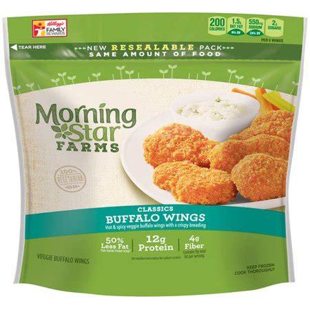 morningstar farms classics veggie buffalo wings, 10.5 oz