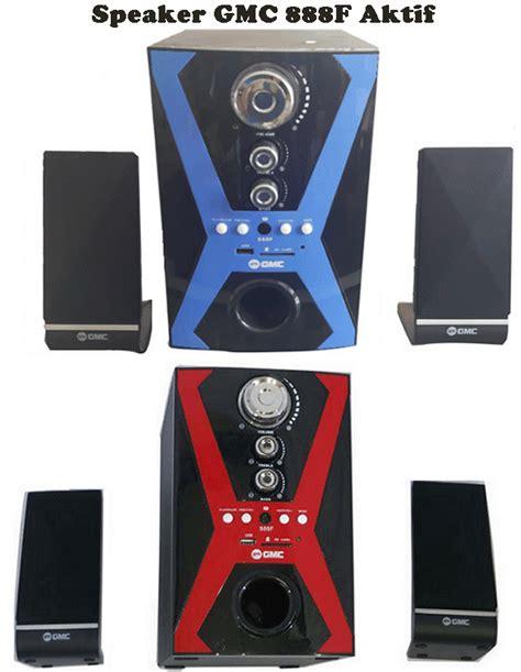 harga speaker aktif gmc 888f spesifikasi usb