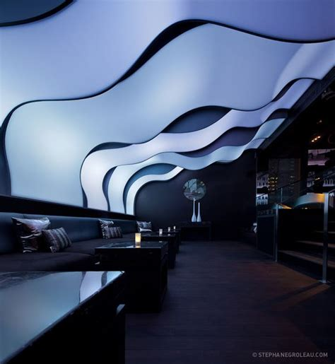 futuristic design w hotel montreal and futuristic interior on