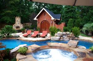 private residence backyard makeover greenville sc eclectic pool other metro by freeman