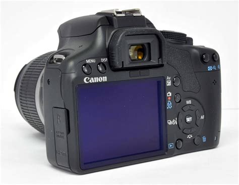 Canon 500d Kit Canon Eos Digital Rebel T1i 500d 15 1 Mp Dslr Kit W Ef S 18 55mm Is Lens Ebay