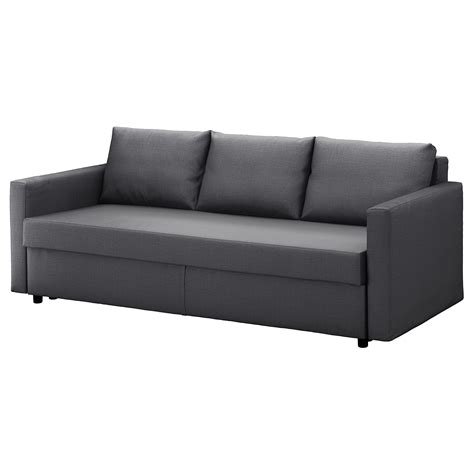 ikea grey sofa bed friheten three seat sofa bed skiftebo dark grey ikea