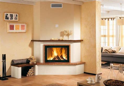 corner wood burning fireplaces home design fireplace