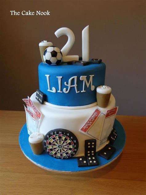 21st Birthday Cakes by S 21st Birthday Cake Cakecentral