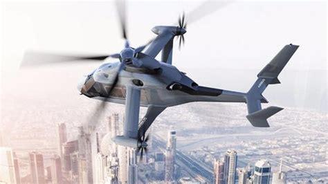 Kipas Helikopter rekaan airbus helicopters racer diperlihatkan helikopter dengan sayap dan kipas penolak