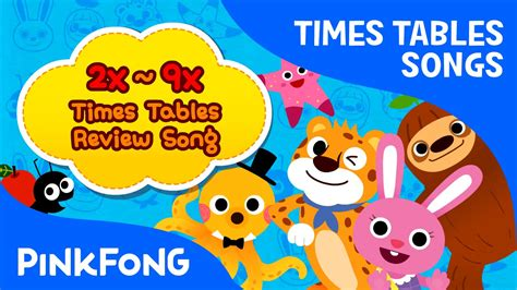 table 2 song 2x 9x times tables review song times tables songs