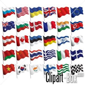 flags of the world waving clipart waving flags clipart panda free clipart images