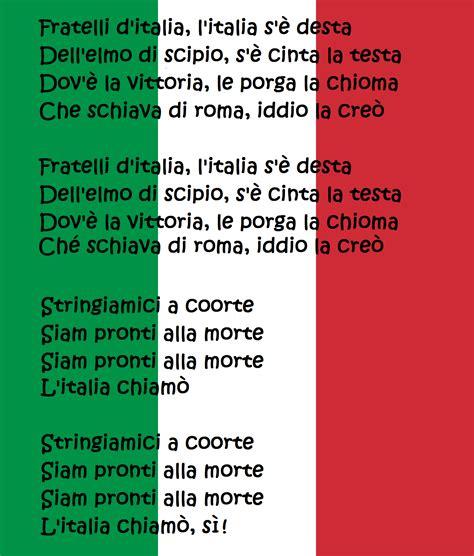 testo italiano someone like you fratelli d italia testo inno nazionale italiano national