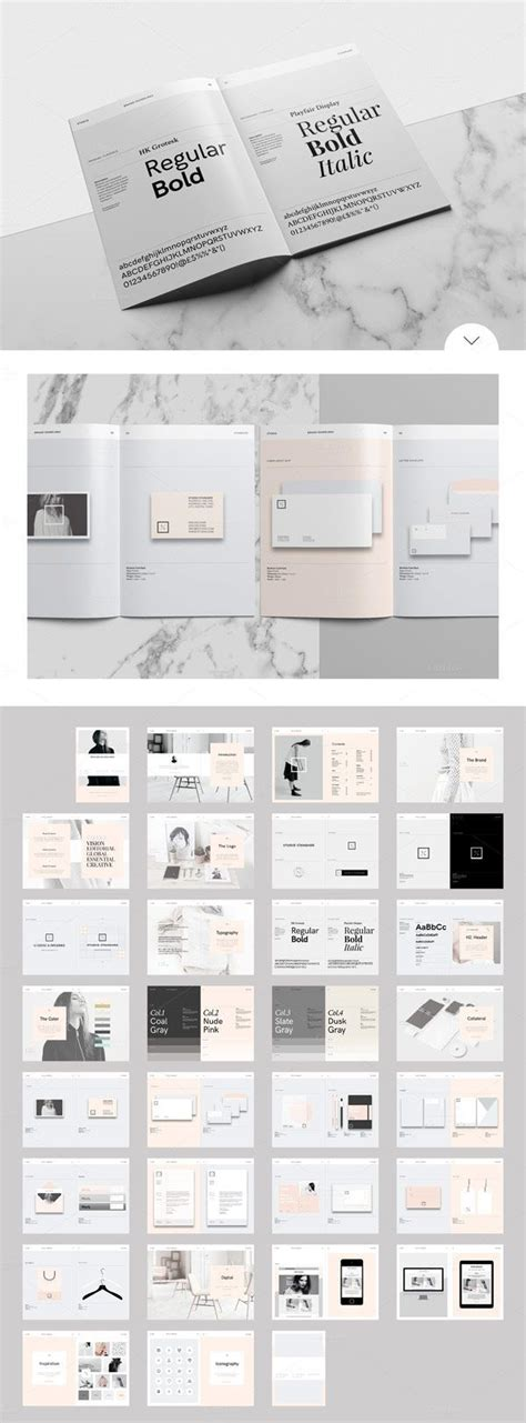 25 Best Ideas About Brand Guidelines Template On Pinterest Brand Guidelines Brand Manual And Style Guide Template Indesign
