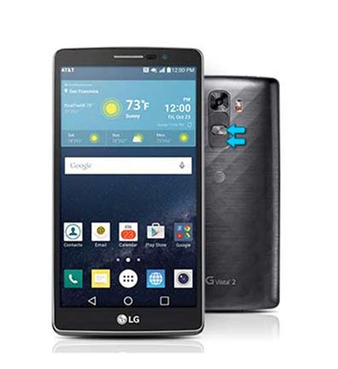 reset android lg how to hard reset lg g vista 2 smartphone