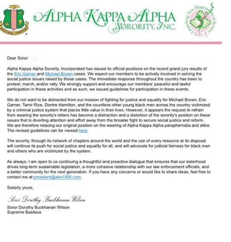 Acceptance Letter Alpha Kappa Alpha Search Results For Letter Of Recommendation Sorority Calendar 2015