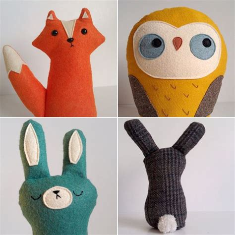 Handmade Stuffed Toys - best 25 stuffed animals ideas on