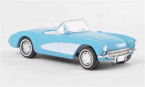 Die Cast 1 87 Porche 256b 1959 chevrolet corvette c1 convertible blue white 1956 busch