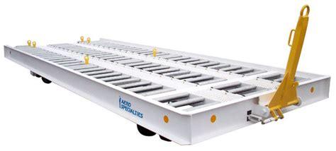 roller bed 2625 20 roller bed pallet trailer aero specialties