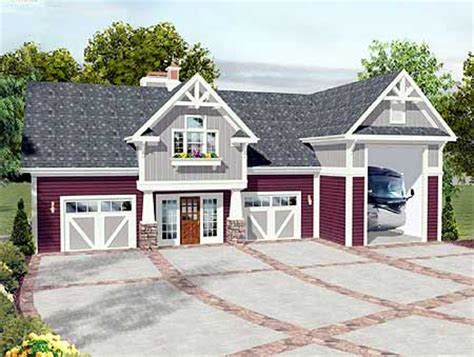 home plans with rv garage plan 20083ga rv garage with observation deck house
