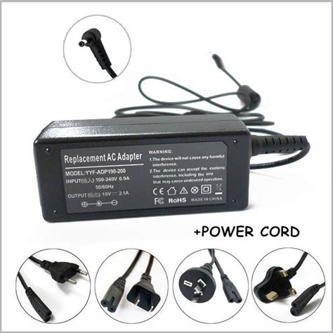 Charger Asus 2 1a 19v 2 1a ac adapter charger power supply for notebook asus