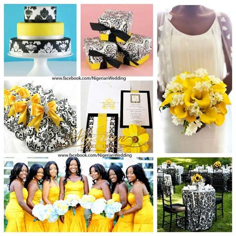 13 best images about yellow and black wedding theme ideas on yellow weddings color