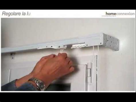 montaggio tenda a pacchetto fissaggio parete e soffitto binario per tende steelglyde