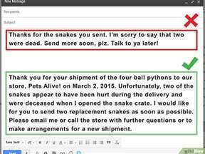 Mit Freundlichen Grüßen Richtig Schreiben Eine Formelle Email Schreiben Wikihow