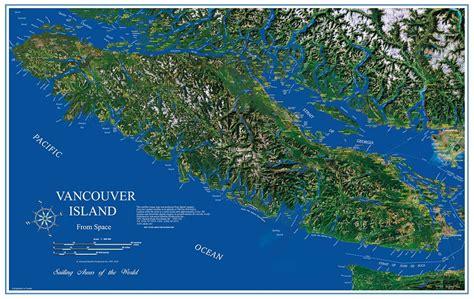 Vancouver Island vancouver island image map