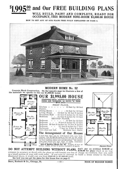 american foursquare house plans unique square home plans 6 sears american foursquare