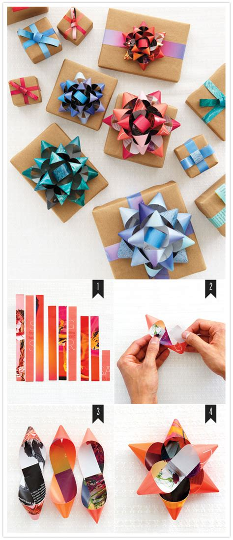 How To Make Paper Bows For Presents - how to make a gift bow diy projects 100 layer cake