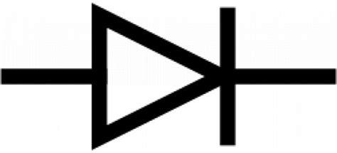 vector diode symbol iec diode symbol vector free