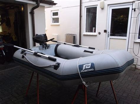 motor boats for sale bournemouth plastimo 2 3m inflatable dinghy with a suzuki 2 stroke dt2