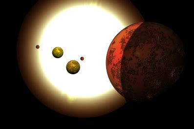 500 Light Years by Dmr S Astronomy Club Tiniest Solar System Discovered