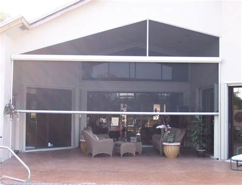 retractable screens for patio i want this retractable screen patio gotta check this out pinte