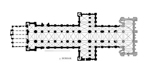 cathedral floor plan medieval durham cathedral plans and drawings