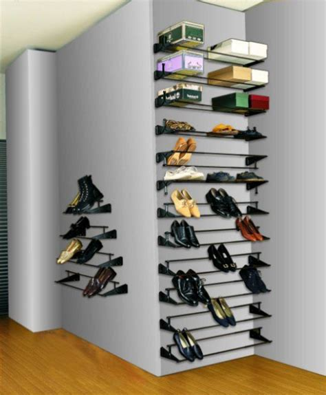 shoe shelves diy diy shoe boot storage shoe shelf plans closet envy