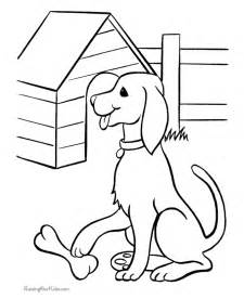 free printable dogs puppies coloring pages 103