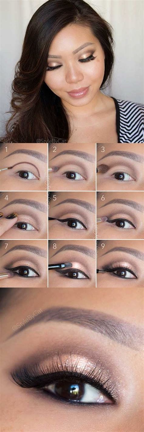 berbagai step by step tutorial eyeshadow natural vemale com 25 beautiful cute eye makeup ideas on pinterest cute