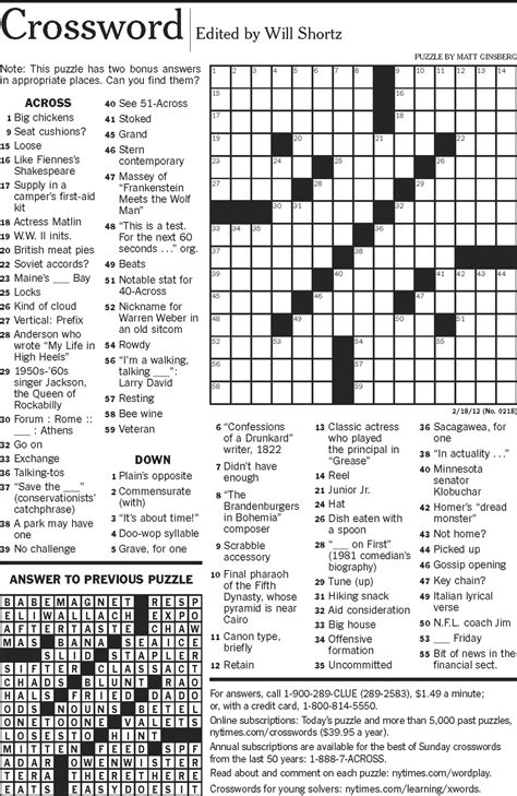 easy crossword puzzle questions and answers download easy crossword puzzles choice image crossword