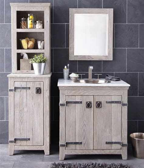americana vanity cabinet and hutch by trails - Bathroom Hutch Cabinet
