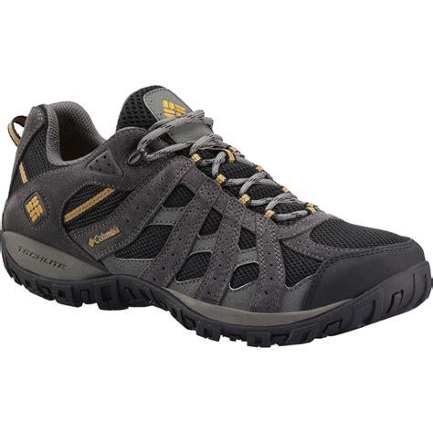hiking sneakers mens columbia redmond waterproof hiking shoe s
