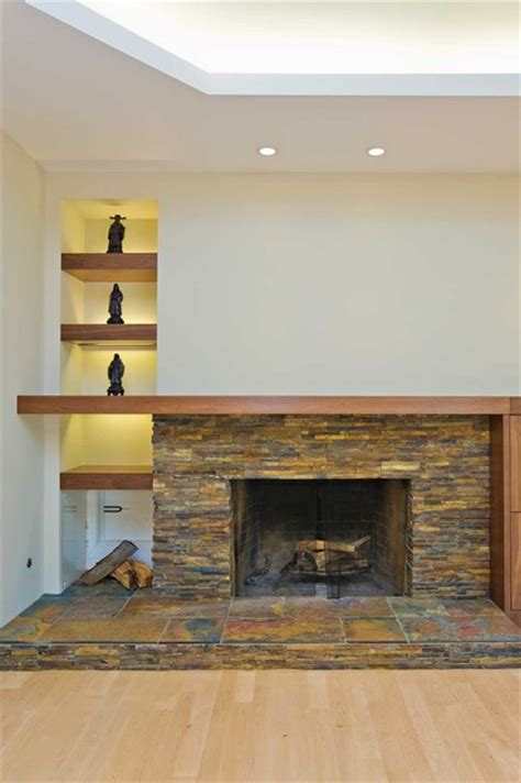 fireplace with storage fireplace with firewood storage