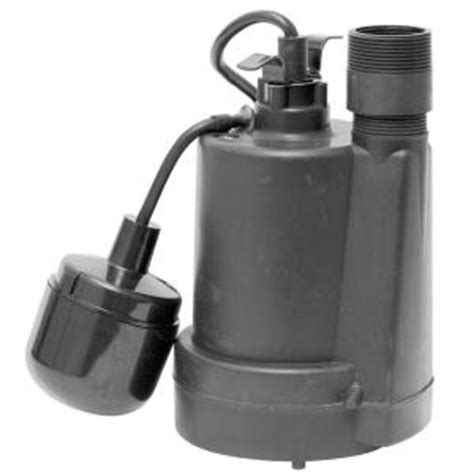 1 4 hp submersible thermoplastic sump 92250 the