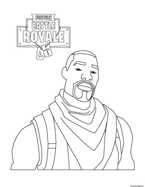 Fortnite Battle Royale : Skin gratuite - Coloriage