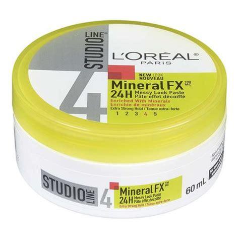 L Oreal Studio Look l or 233 al studio line mineralfx 24h strong hold