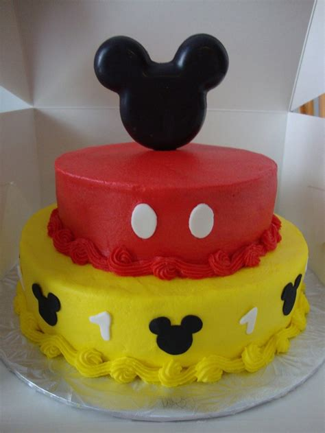Mickey Mouse Cake Decorations by Edible Chocolate Mickey Mouse Ears Cake Topper Kit 12 99