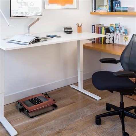 4 foot corner desk foot rest under desk staples flip standing desk footrest