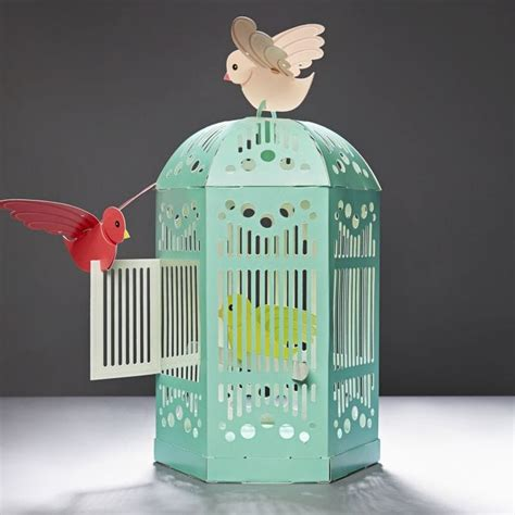 Beautiful Paper Crafts - make a beautiful birdcage paper crafts for find me