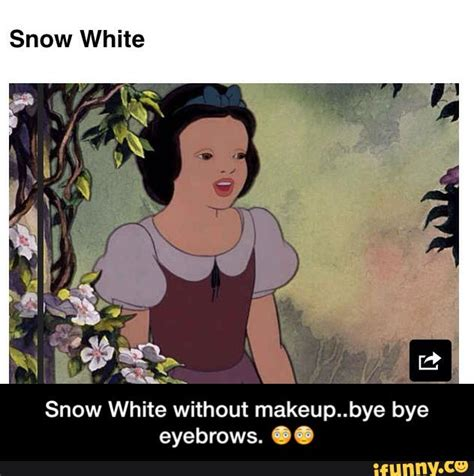 Snow White Meme - snow white makeup meme mugeek vidalondon