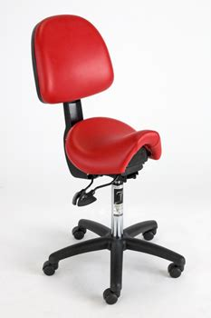 Saddle Chair With Backrest by Bambach Saddle Seat With Backrest